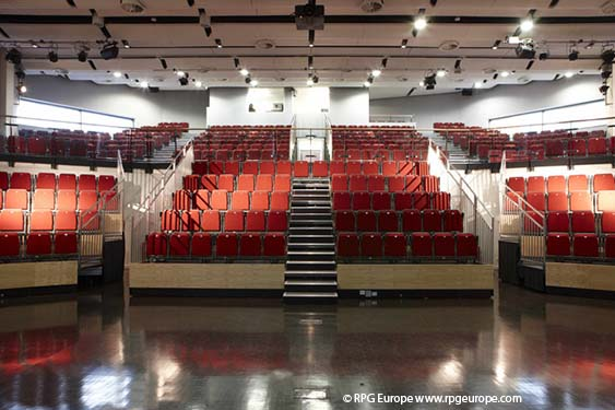 Picture of auditorium in Bridge Academy, UK