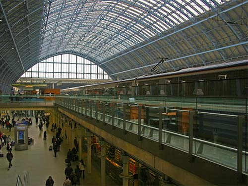 Picture of St Pancras International train station