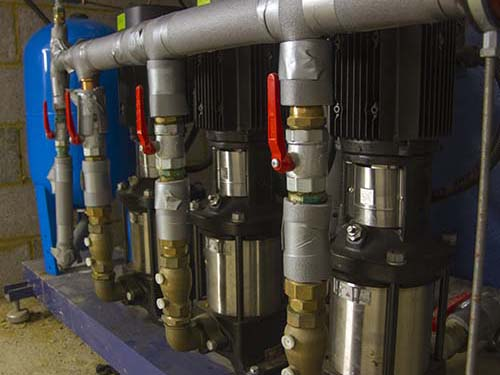 Picture of water pumps
